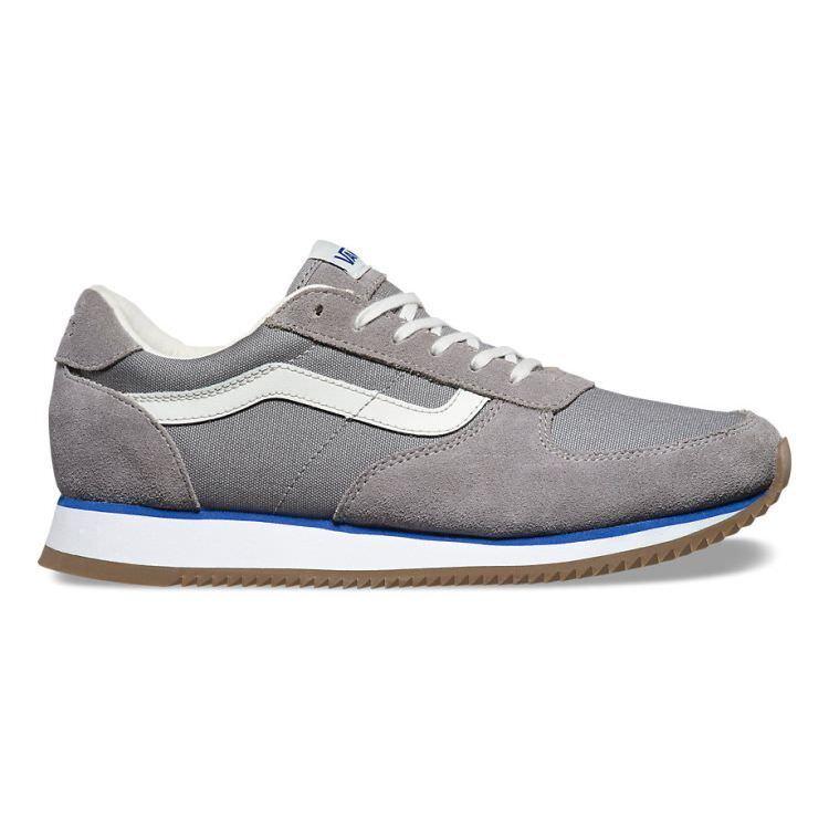 VANS Runner (OG) Wild Dove Grey Suede UltraCush Skate Shoes Women's Size 7