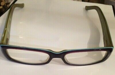 bfd235bdd384 Dolce & Gabbana authentic reading glasses purple and green 50 mm D&G 1163  833 | eBay