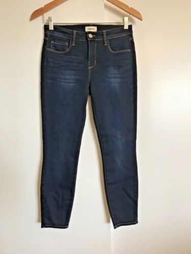 L'Agence Mazzy Skinny Low Rise Jeans Size 27 Lapis