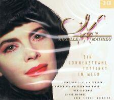 Mireille Mathieu - Ein Sonnenstrahl ertrinkt im Meer - 3 CDs NEU Beste Hits