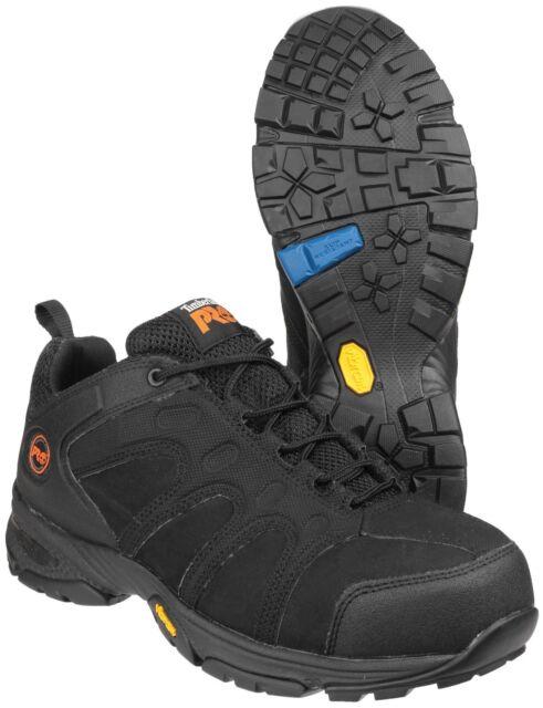 baratas para la venta el precio más bajo mejores telas Timberland Pro hombre wildcard cordones zapato de seguridad zapatillas  calzado negro 40