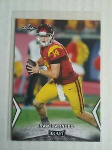SAM DARNOLD 2018 LEAF DRAFT ROOKIE FOOTBALL CARD-#54-USC