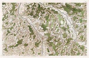 MAP-ANTIQUE-CASSINI-FRANCE-18TH-CENTURY-MOULINS-REPLICA-POSTER-PRINT-PAM0795