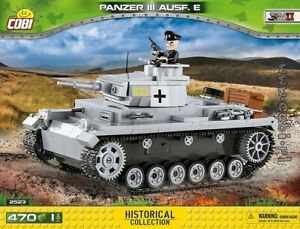 COBI-Panzer-III-Ausf-E-2523-470-blocks-WWII-Small-Army-German-tank
