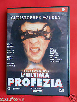 dvd,film horror,l'ultima profezia,the prophecy,christopher walken,gregory widen