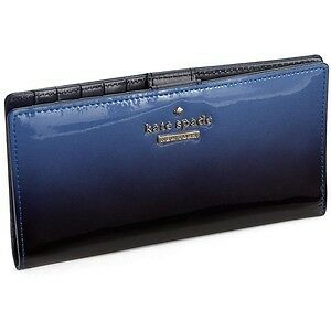 Kate-Spade-Wallet-PWRU4088-Cedar-Street-Ombre-Patent-Stacy-Blue-Agsbeagle