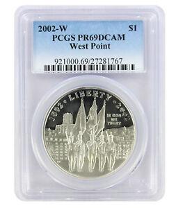 1991-S USO U.S.O Silver Commemorative Dollar PR69DCAM PCGS Proof 69 Deep Cameo