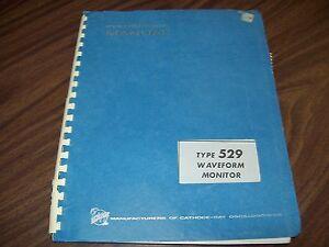 Tektronix-Type-529-Waveform-Monitor-Instruction-Manual