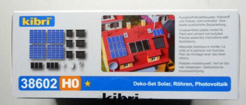 SOLAR PANEL SATELLITE KIBRI 1//87 HO SCALE PLASTIC MODELS KIT BEGINNER 38602