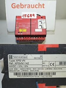 Telemecanique-Xps-Vn-Safety-Relay-XPSVN1142