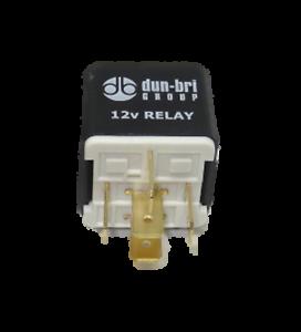 24v 20A Mini Twin make and break Relay with bracket