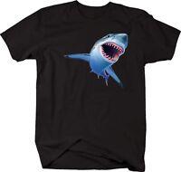 Tshirt -shark Great White 3d
