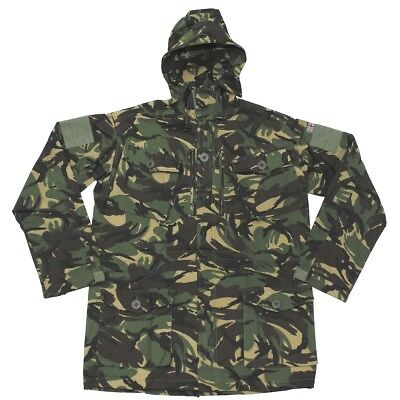 NEW British Army Issue Woodland DPM Camo Windproof Hooded Smock - Size 160/88