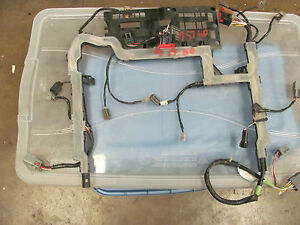 2003 2004 2005 2006 lincoln ls driver seat wiring harness 3w4t image is loading 2003 2004 2005 2006 lincoln ls driver seat