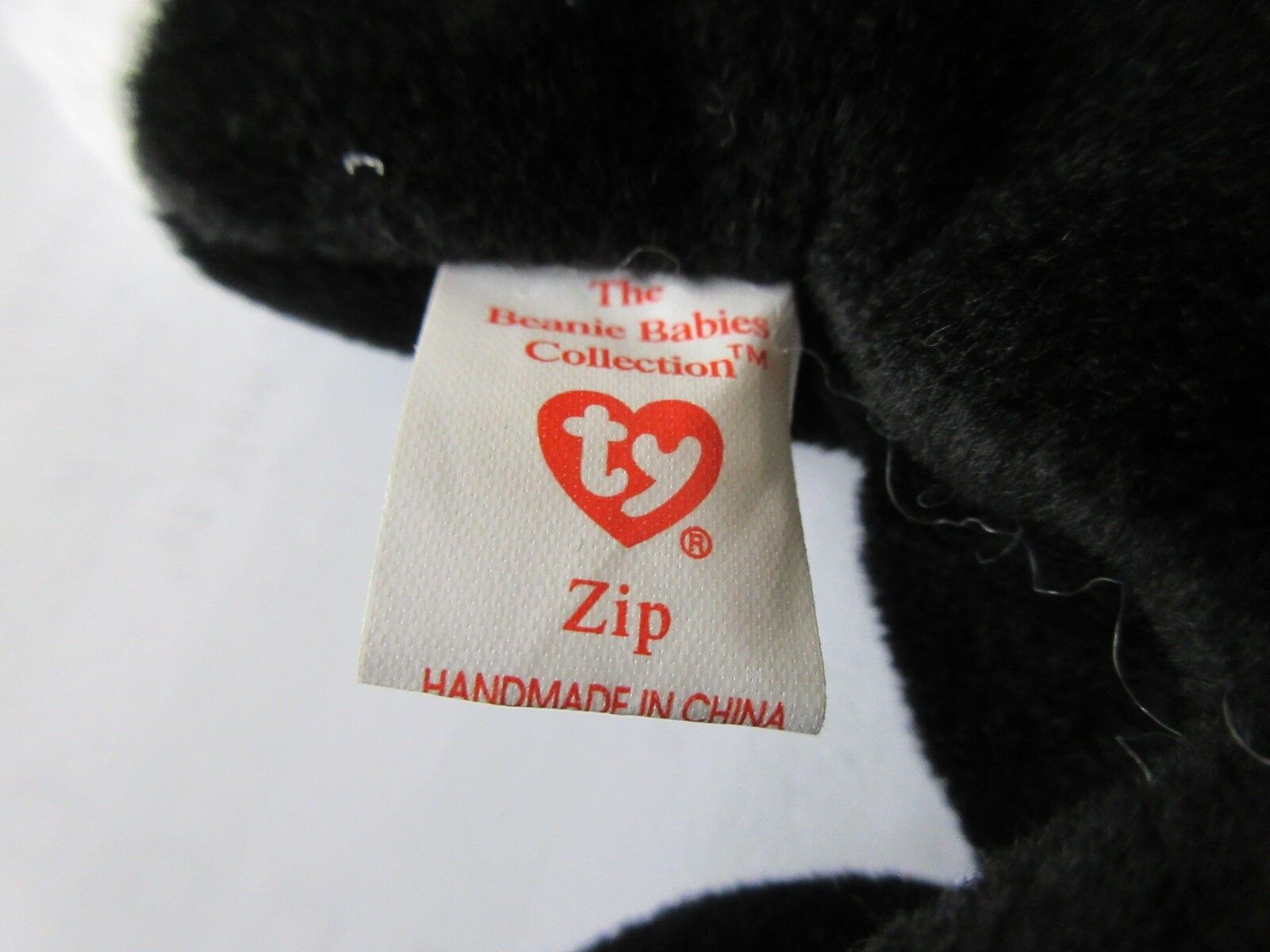 TY Beanie Baby , Original , ZIP , Style 4004 , 1993 TY