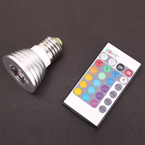E27-3W-16-Color-LED-RGB-Magic-spot-Light-Bulb-Lamp-Wireless-Remote-Control