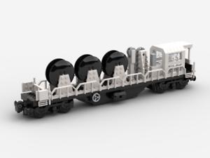 Details about LEGO Custom Modular Building - Rail Maintenance Train 4 -  ONLY PDF INSTRUCTIONS!