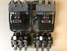 Allen Bradley 715x Cod11 Size 2 Reversing Motor Starter With 120 Volt Coils