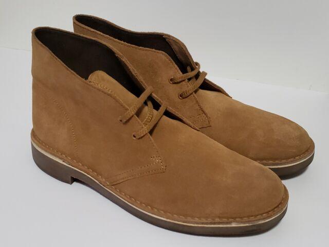 Clarks Men's Weaver Boot Suede Cola