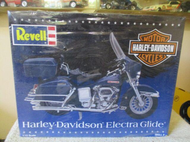 Revell Harley Davidson 1 12 Scale Fat Boy Model 7972 Motorcycle Kit 1995 Rare For Sale Online Ebay
