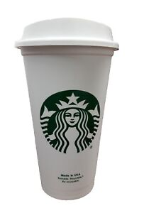 Details About Starbucks Reusable Plastic Travel To Go Coffee Cup Free Bpa Grande Size 16 Oz