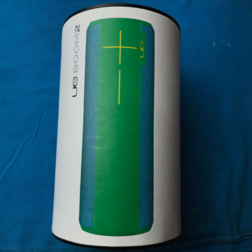 Brand New Ultimate Ears BOOM 2 Green Machine Wireless Mobile Bluetooth Speaker