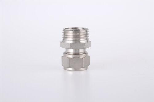 1//2BSP Rosca Macho Recto Neumático Accesorios 14mm tubo de diámetro acoplador rápido