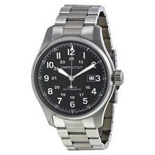 Hamilton Khaki Officer Automatic Black Dial Mens Watch H70625133