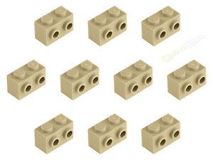 10x LEGO ® 11211 1x2 Convertisseur-Pierre 2 d'Beige Sable Tan NEUF  </span>