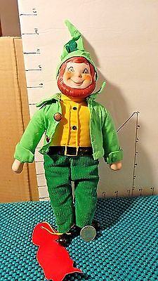 Leprechaun Doll, Heirloom Dolls MSR Imports Inc., Handmade, Porcelain Doll Colle