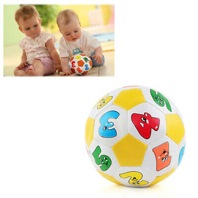 2pcs Soft Indoor Outdoor Rubber Football Soccer Ball Cotton Toy For Baby Kids