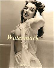 Blaze Starr-Gets Ready For Bed-Pinup Girl, Burlesque Dancer, USA Model-Photo