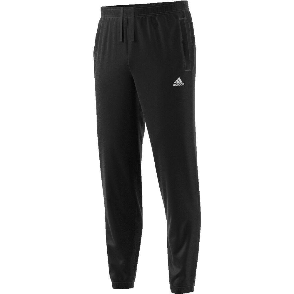 Pantalone Adidas men - Jersey Polsino Regular Tapared Ess - black - B47218