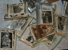 LOT of 110 OLD VINTAGE ORIGINAL BLACK N WHITE PHOTOGRAPHS  1920's-1950