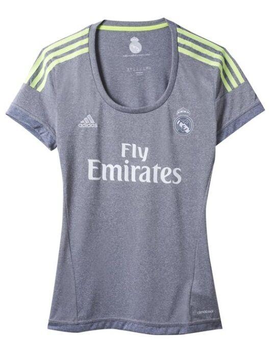 Trikot Adidas Real Madrid 2015-2016 Away  Ronaldo Bale Kroos
