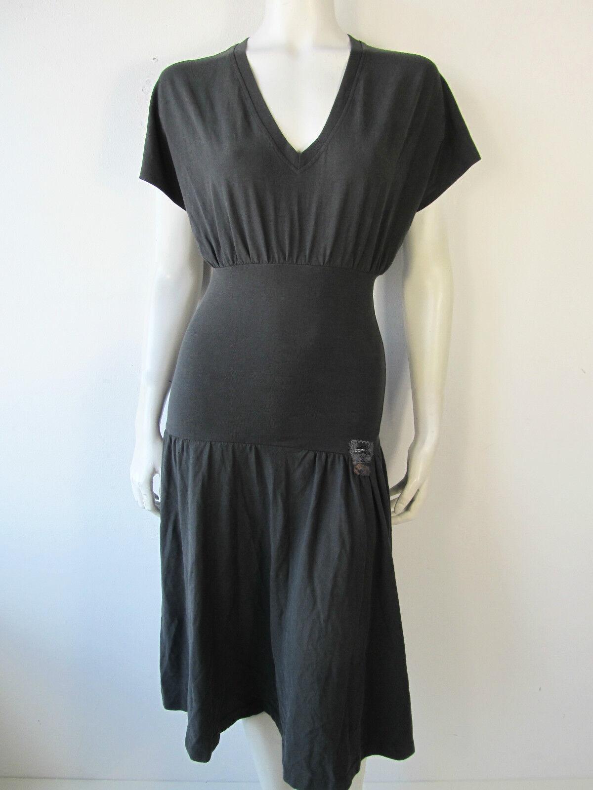 Diesel Swanco Vestito Vintage Kleid Kleed Dress Jurk Grau XS S Neu