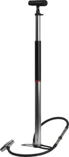 Zéfal Profil Travel Fahrrad-Standpumpe silber mit Transporttasche bis 10 bar