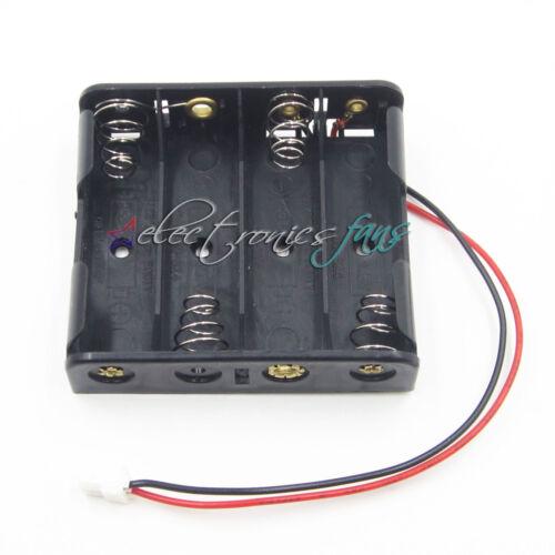 6V 4AA 4xAA battery Halter mit JST connector für arduino