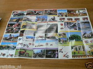 HAP-390 HONDA POSTER BROCHURE  1982 ? BIKES,GENERATORS,CARS,PUMPS