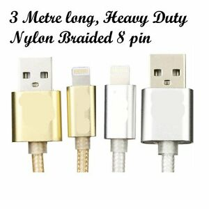 3M-Aluminium-Alloy-Nylon-braide-8-pin-lighting-cable-for-iphone-5-5s-6S