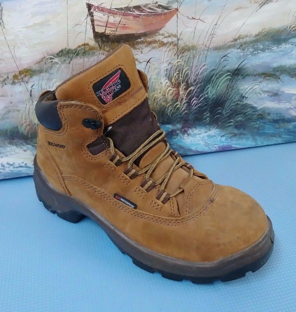 Red Wing Womens 8.5D () Steel Toe Waterproof Boots ASTM F 2413-05 SN 2327