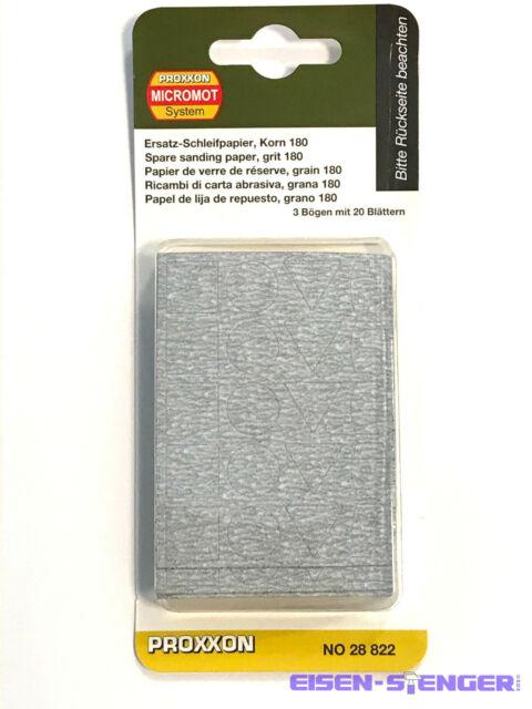 28822 Proxxon Schleifpapier für PS 13 12 K180