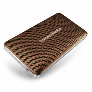 Harman-Kardon-HKESQUIREMINIBRNAM-Esquire-Mini-Portable-Wireless-Speaker-Brown