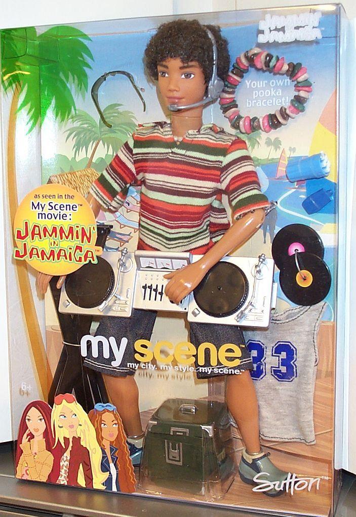 My Scene SUTTON Doll - Jammin in Jamaica  Brand New and Sealed Box VHTF RARE