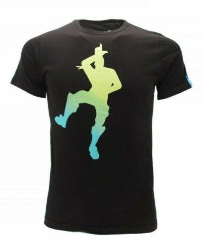 T-shirt maglia bambino//a originale FORTNITE con etichetta BALLO cowboy