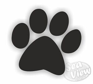 30-Dog-Paw-Print-Car-Van-Bedroom-Window-Wall-Stickers