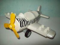 Lego Duplo Zoo Safari 6156 Weißes Flugzeug Neu