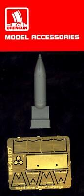 "Brengun Models 1//72 U.S NAVY Mk.24 MINE /""FIDO/"" TORPEDO Resin /& Photo Etch Set"