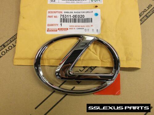 """OEM Genuine FRONT Grille /""""L/"""" LOGO EMBLEM 2006-2011 Lexus GS350 GS430 GS460"""