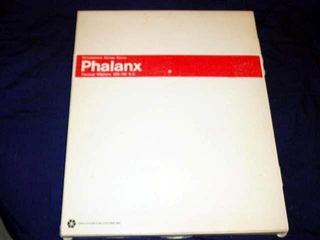 SPI - PHALANX - Tactical Warfare  500 - 100 B.C. - 1972 - White Box Version